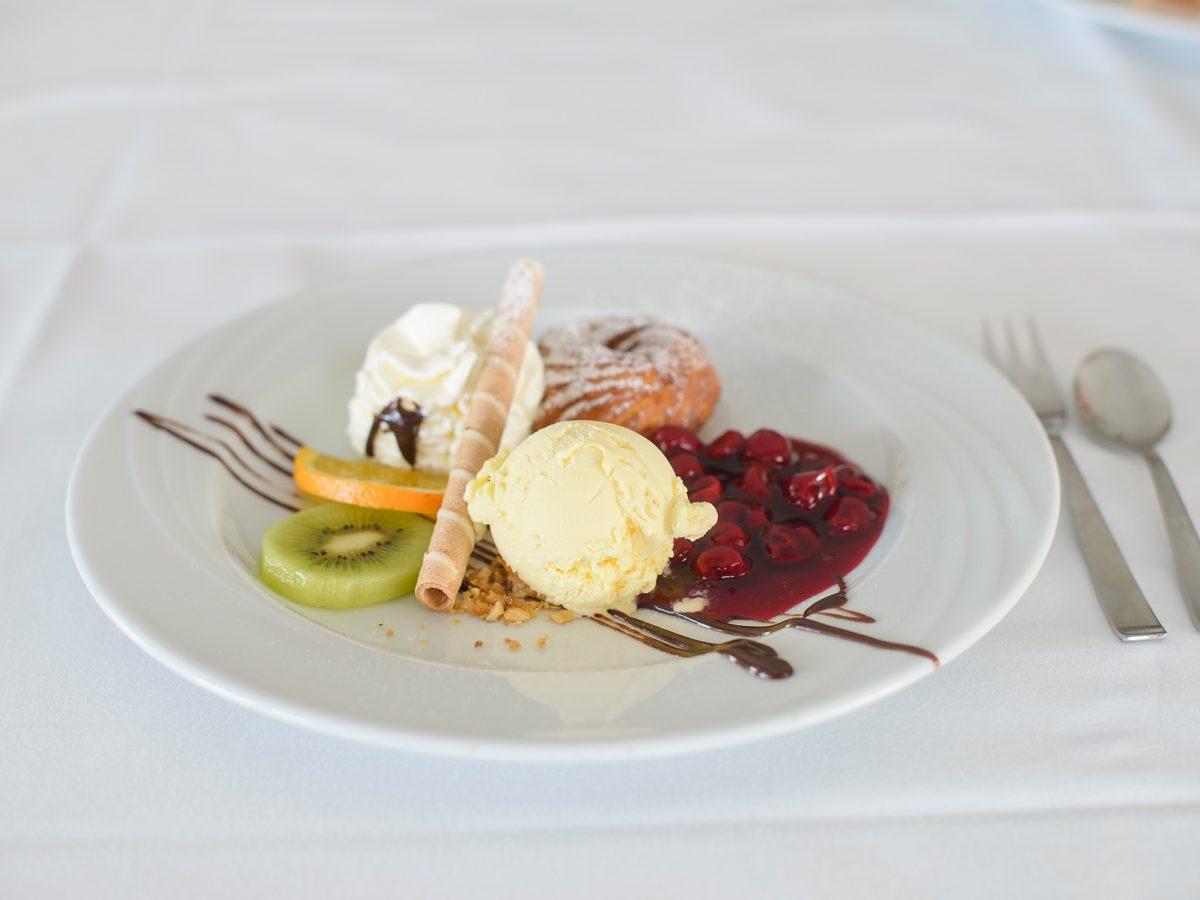 Dessert Landgasthof Linde am Hoechsten